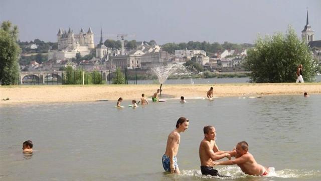 Où se baigner à Saumur ?