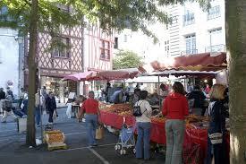 Les marchés à Saumur
