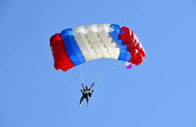 Faire du parachutisme à Saumur
